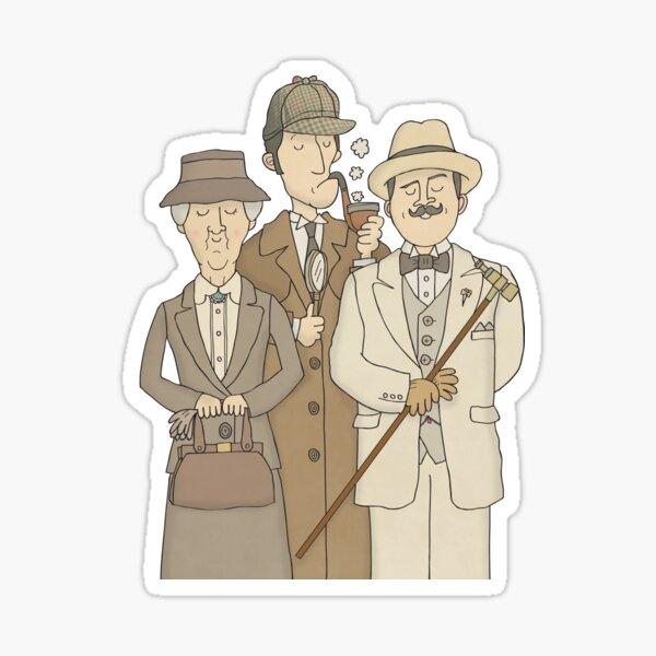 Detectives Sticker