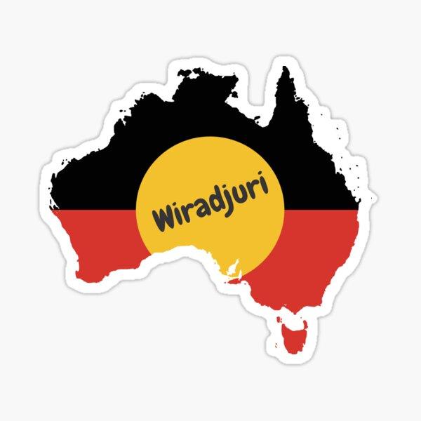 Wiradjuri Aboriginal Australian Sticker