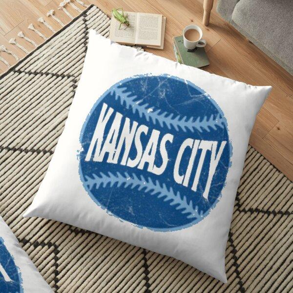 Kansas City Royals - White  Floor Pillow