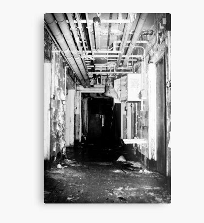Room 3 is straight ahead Metal Print