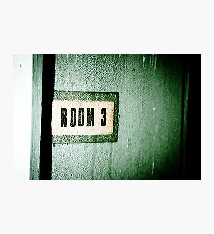 Room 3 Photographic Print