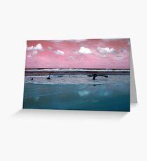 Surrealistic Seascape IV Greeting Card
