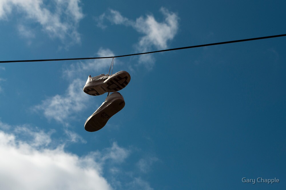 Shoes On A Wire by Gary Chapple