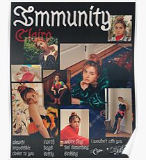 Clairo Immunity Poster, Shirt, Tote Bag  Poster