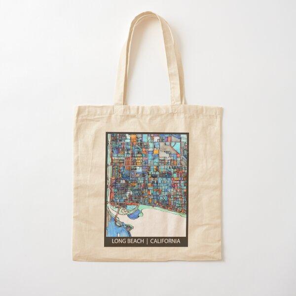 Long Beach, CA Cotton Tote Bag