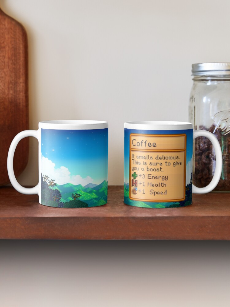 Alternate view of Stardew valley coffee mug Mug
