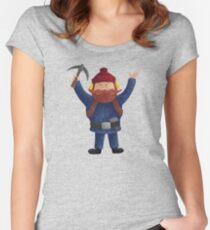 Yukon Cornelius 2015 Women's Fitted Scoop T-Shirt