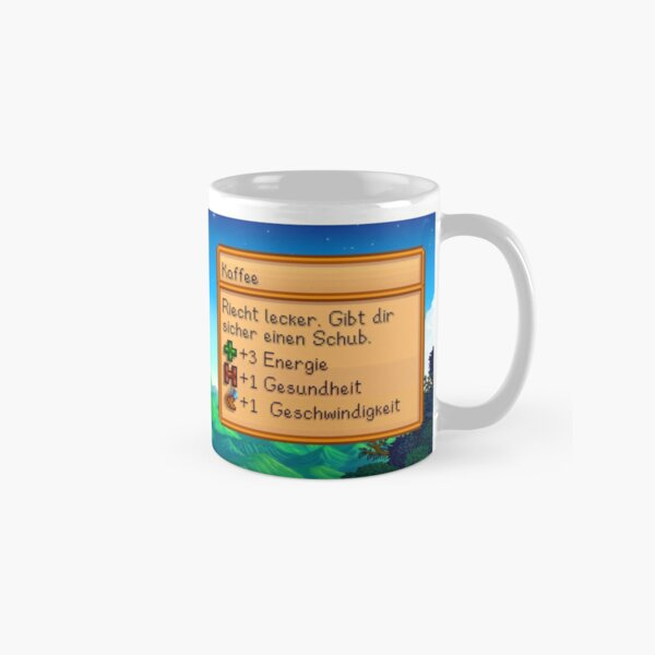 Stardew valley coffee mug (German) Classic Mug