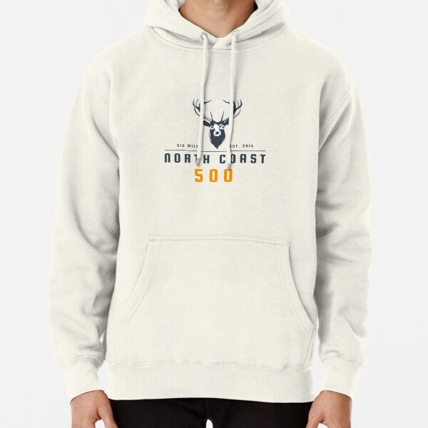 North Coast 500 (NC500) Scotland Road Trip With Stags Head Pullover Hoodie