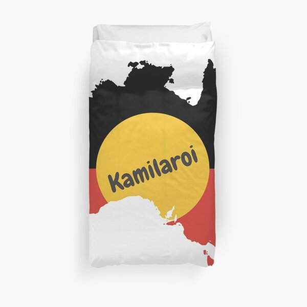 Kamilaroi Aboriginal Australian Duvet Cover