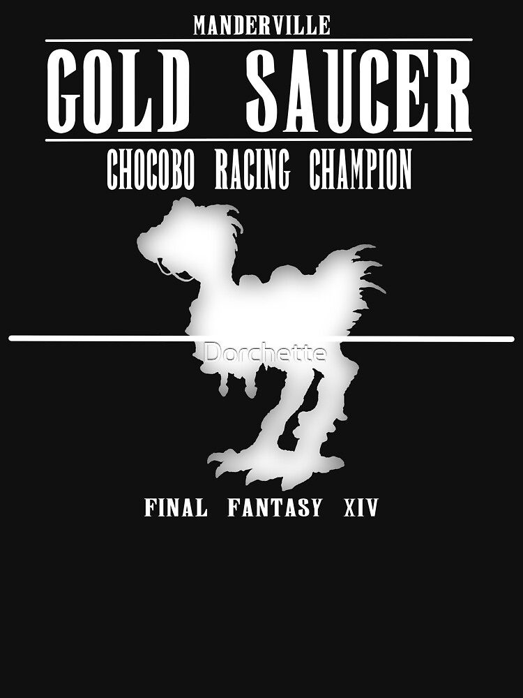 FFXIV - Gold Saucer Chocobo Racing | Women's Fitted Scoop T-Shirt