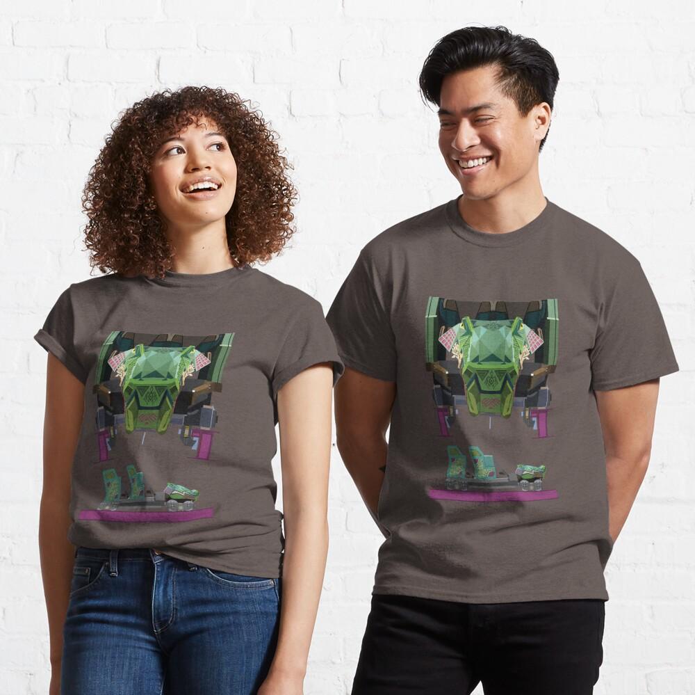 Iron Gwazi Coaster Car Design Classic T-Shirt
