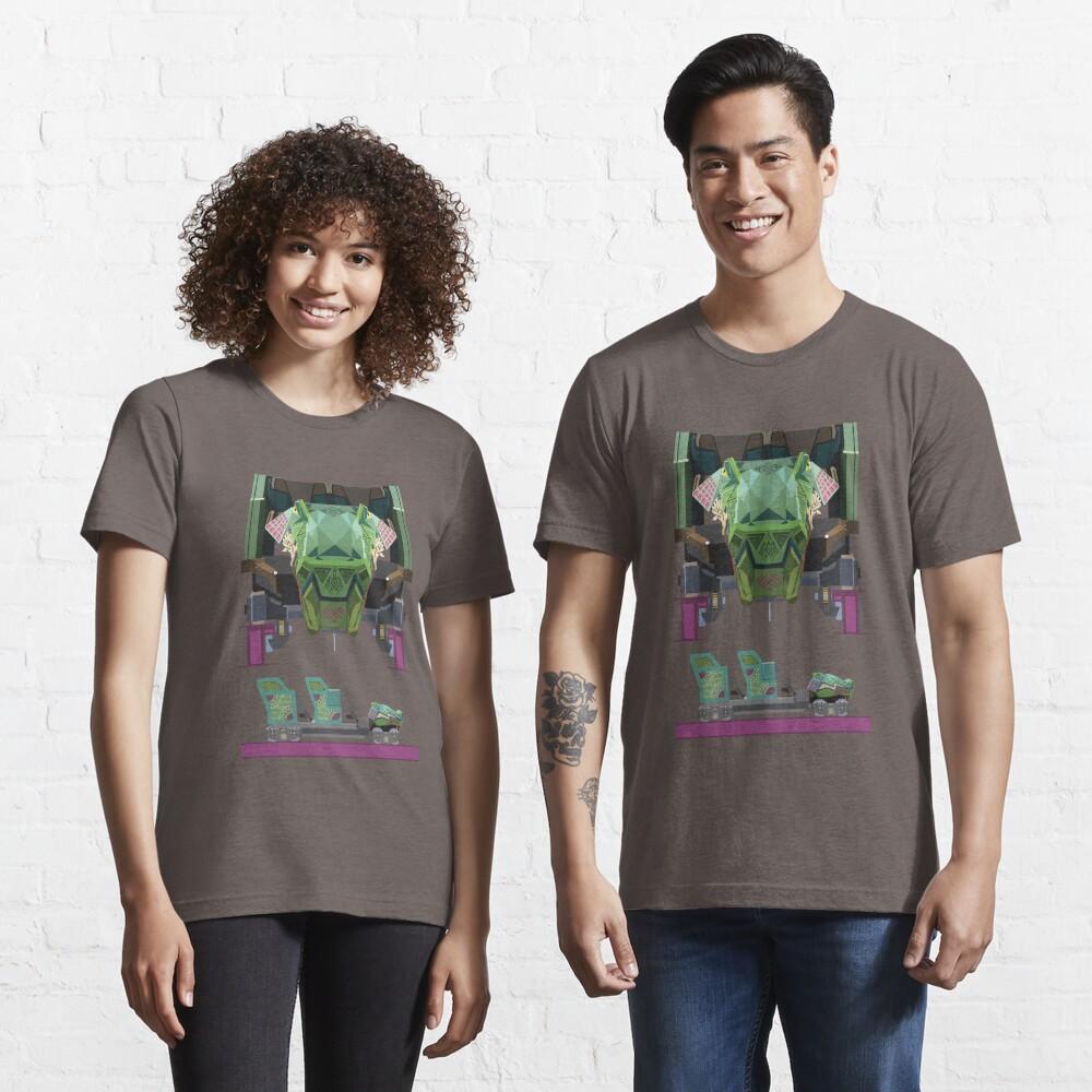 Iron Gwazi Coaster Car Design Essential T-Shirt