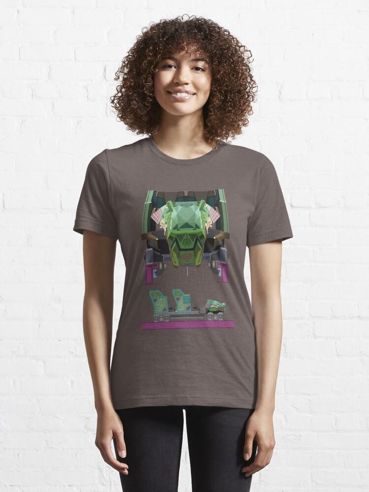 Alternate view of Iron Gwazi Coaster Car Design Essential T-Shirt