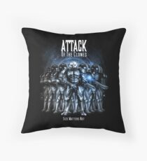 Sontaran's: Attack of the Clones - Size Matters Not Throw Pillow
