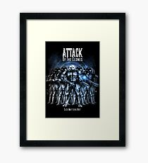 Sontaran's: Attack of the Clones - Size Matters Not Framed Print