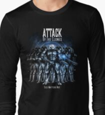 Sontaran's: Attack of the Clones - Size Matters Not Long Sleeve T-Shirt