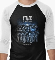 Sontaran's: Attack of the Clones - Size Matters Not Men's Baseball ¾ T-Shirt