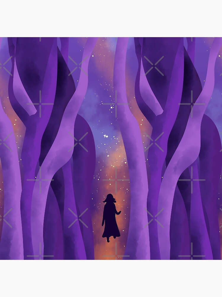 Girl on Path to the Stars by nobelbunt