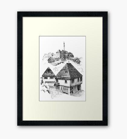 Cazin, Bosnia and Herzegovina Framed Print