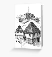 Cazin, Bosnia and Herzegovina Greeting Card