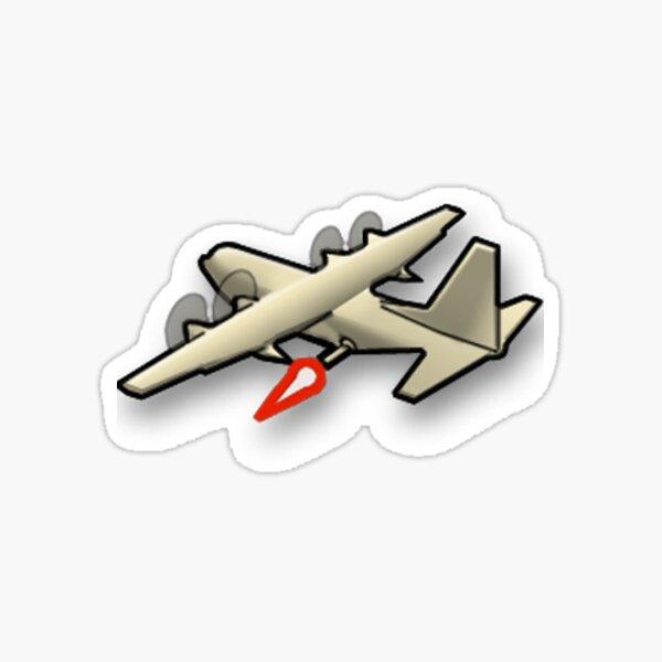 AC-130 kill streak Sticker