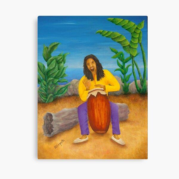 Island Beat Canvas Print