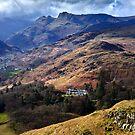 Cloud on the Langdale peaks by Shaun Whiteman