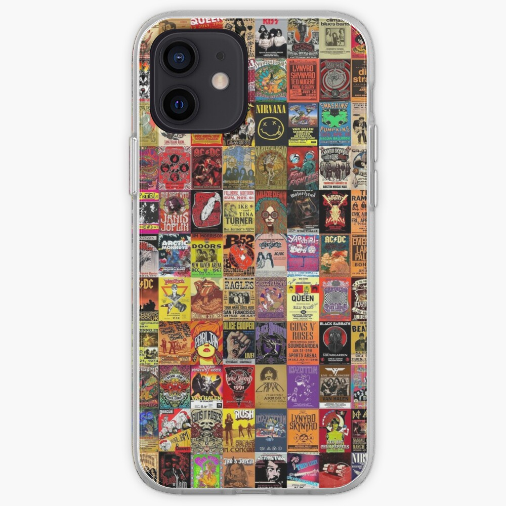 Rock Band Posters iPhone Case & Cover