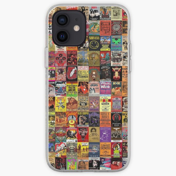 Rock Band Posters iPhone Soft Case