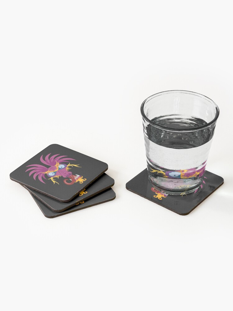 Alternate view of Dragon Coasters (Set of 4)