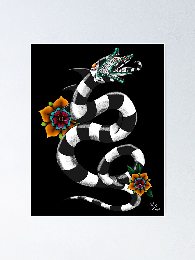 Sandworm Poster By Embodyarts Redbubble