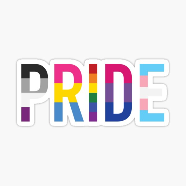 Pride, Various Queer Flags 1 Sticker