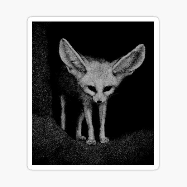 Sahara the fennec fox Sticker