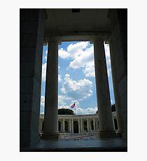 To The Brave Fallen - Arlington, VA Photographic Print