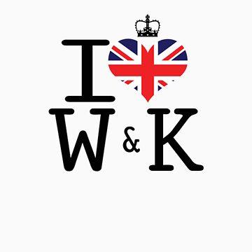 I heart William & Kate by Casper