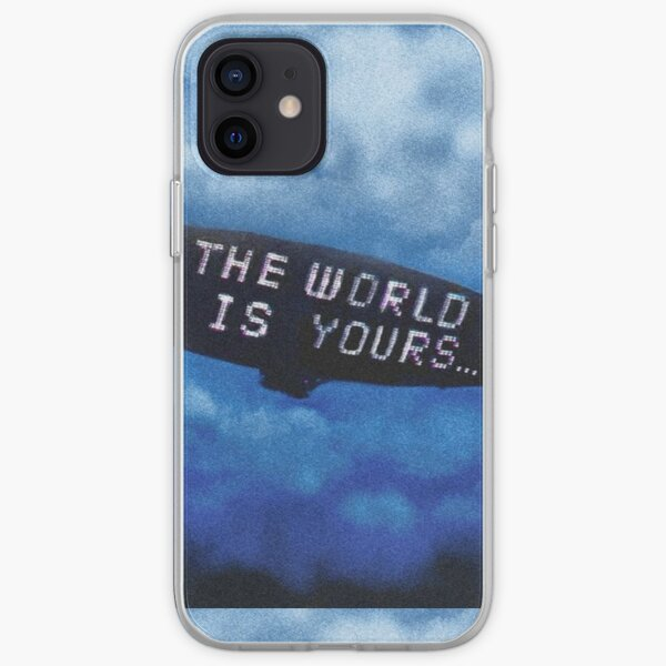 THE WORLD IS YOURS iPhone Soft Case