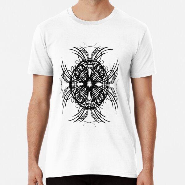 Funny Comic T-Shirt Griffin Flowers Premium T-Shirt