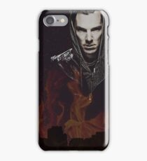 Benedict Cumberbatch - Flames iPhone Case/Skin