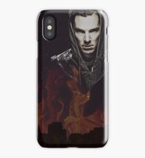 Benedict Cumberbatch - Flames iPhone Case