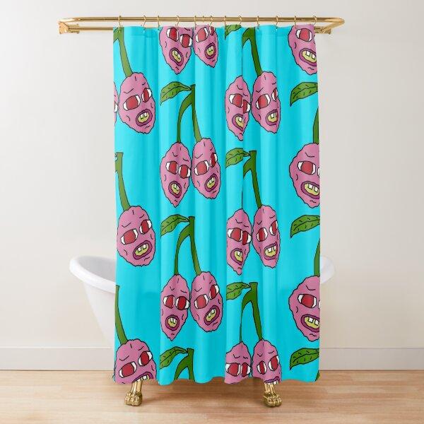 Cherry Bombs Shower Curtain