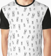 Condensed Chromosomes Pattern Graphic T-Shirt