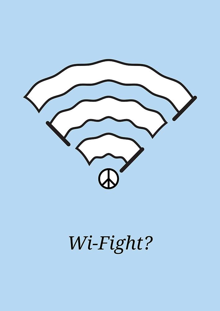 Wi-Fight? by Viktor Hertz