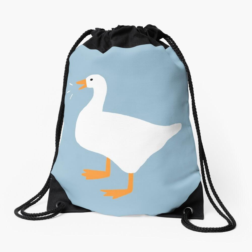 Honk Honk Goose Drawstring Bag