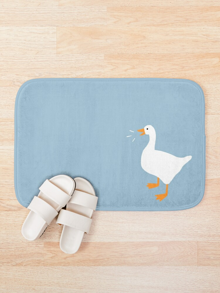 Alternate view of Honk Honk Goose Bath Mat