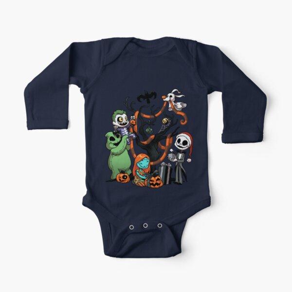 Nightmare Tree Long Sleeve Baby One-Piece