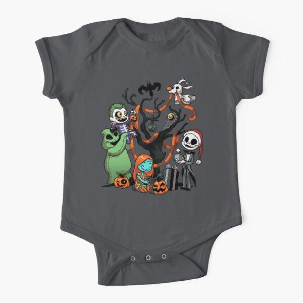 Nightmare Tree Short Sleeve Baby One-Piece