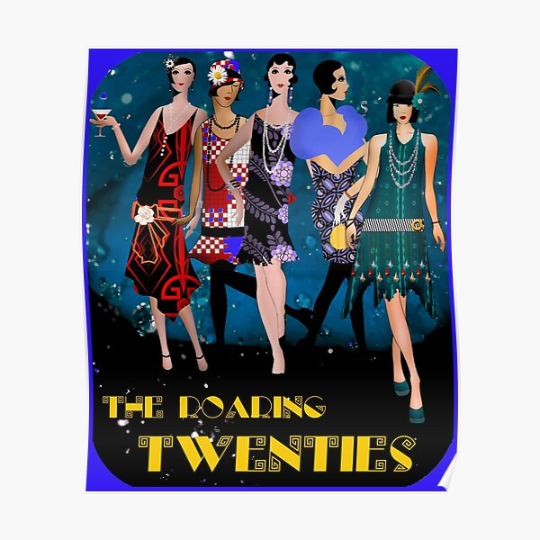The Roaring 1920's Dancers Poster