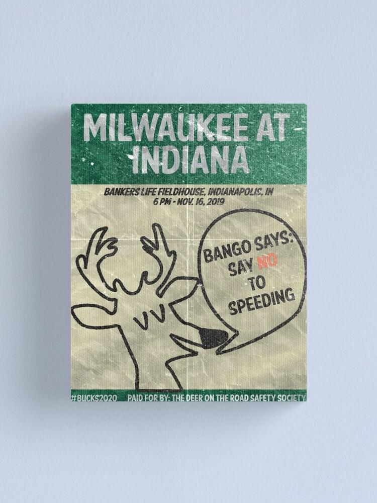 "Alternate view of ""Say No to Speeding"" Canvas Print"
