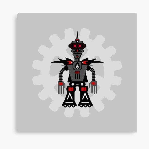 Evil Robot Canvas Print